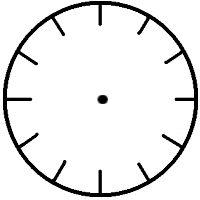 28 best clock faces images clock face printable clocks face template
