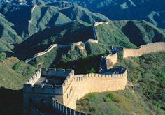 The Great Wall.  You can see it from Space, what need I say more?