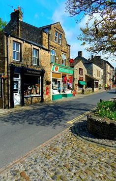 Grassington in the Yorkshire Dales - North Yorkshire, England