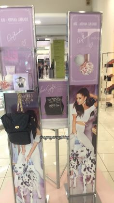 I started hyperventilating when I saw this the workers thought I was crazy Ari Perfume, Ariana Merch, Ariana Grande Perfume, Ariana Grande Dangerous Woman, Red Makeup, Beautiful Person, Celebs, Celebrities, Moonlight