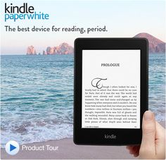 """Kindle Paperwhite, 6"""" High Resolution Display with Built-in Light, Wi-Fi - Includes Special Offers"""