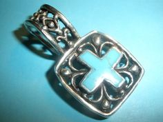 BFF Debbie's beautiful cross pendant