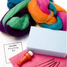 Bright Needle Felting Kit