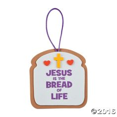 Remind your Sunday School students and VBS participants the importance of Jesus' love with this Bread of Life Ornament Craft Kit. A fun addition to your ...