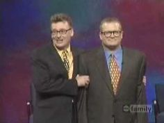 ▶ Whose line is it anyway - Drew falls during Worlds Worst game