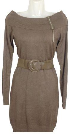 Strickkleid in Feinstrick, Länge Kleid ca. 86 cm, One Size/geeignet bis Größe 40