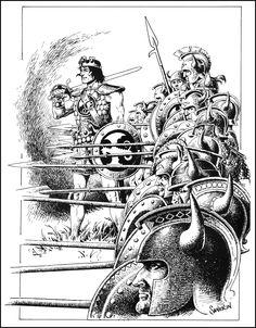 King Kull | Art by John Severin