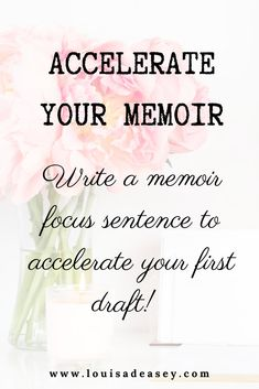 Want to know my secret trick to narrowing down your #story topic so you can write the first draft of your #book much quicker? Turn your #nonfiction concept into a focus sentence! Read the full blog post to learn how to #write your #memoir focus sentence. #memoir #storytelling #creativewriting #writingadvice