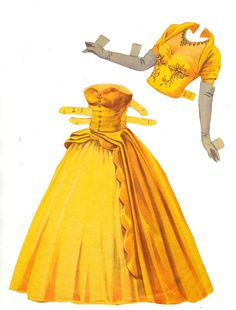 Paper Dolls with Glamour Gowns 1954 Saalfield #2739 - Bobe Green - Picasa Albums Web