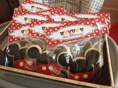 Mickey party - Cookie Party Favors