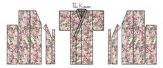 Easy Kimono Pattern | ... 4metres) is used to make the Kimono, so nothing is wasted or cut off