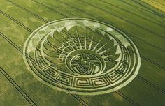 Crop circles, UFO sightings, ghosts and unexplained phenomena.