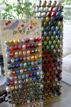 How To Make A Thread Board Lisa Tutman Oglesby