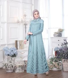 id – HijabStyle Model Kebaya Muslim, Dress Brokat Muslim, Dress Brokat Modern, Kebaya Modern Dress, Kebaya Dress, Dress Pesta, Muslim Dress, Kebaya Hijab, Dress Brukat