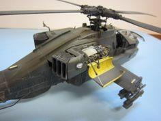 AH-64D Apache 1/48 Scale Model