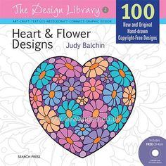 Buy+The+Design+Library:+Hearts+&+Flowers+Online+at+www.sewandso.co.uk