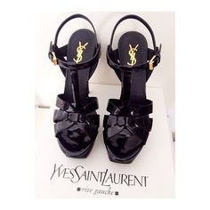 Classic YSL pumps are still available at our Boston location in 4 color ways!