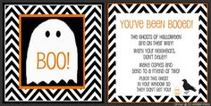 """""""Boo"""" friends and neighbors with spooktacular surprise treats and this free downloadable tag"""