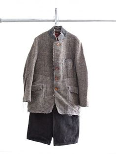 Rebuild by Needles Handmade Clothes, Custom Clothes, Make Your Own Clothes, Safari Jacket, Mens Attire, Embroidered Clothes, Harris Tweed, Mens Fashion, Fashion Outfits