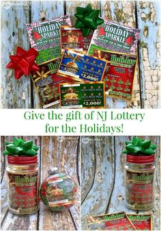 Give the gift of #NewJerseyLottery Holiday Instant Games! #NJLotteryHoliday #Win #Play AD: