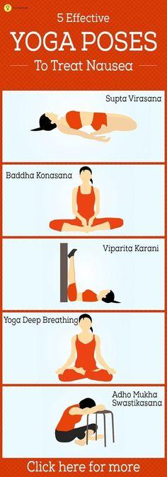 Still nauseated? Consider prenatal yoga.