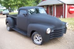 1951 Chevrolet Rat Rod. A Rat Rod is a drivable but unfinished project. Rat rods are very popular now because people have limited funds. This features a chopped top and widened rear fenders.