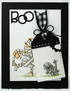 CAS339 - BOO by Tammie E - Cards and Paper Crafts at Splitcoaststampers