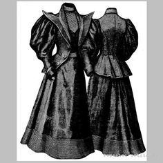 Victorian Reproduction PDF Pattern 1890's by RepeatedOriginals, $30.00