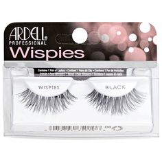 Ardell Natural WISPIES are. Ardell Natural Lashes are made from sterilized human hair. Closest thing to your natural lashes. Very easy to apply and they look amazing and natural when on. As natural as your own. Black Lashes, Fake Lashes, False Eyelashes, Ardell Eyelashes, Dollar Tree Halloween, Diy Baby Shower Decorations, Diy Wedding Decorations, Natural Wedding Makeup, Natural Makeup