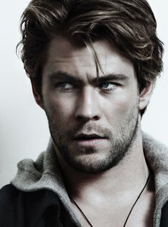 Chris Hemsworth. He can hit me with his hammer any day!