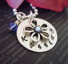 Personalized Flower Girl or Junior Bridesmaid by StampedOneOfAKind, $34.99