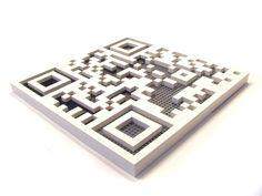 lego QR code.