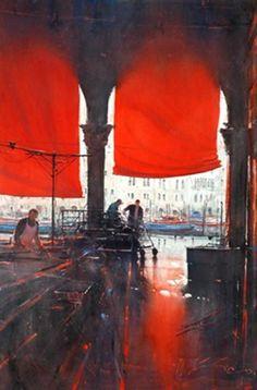 Joseph Zbukvic - Venice, 2003, watercolour on MutualArt.com
