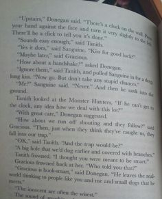 A typical page in a Skulduggery Pleasant book. ;)