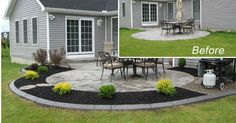 17 Best ideas about Concrete Backyard on Pinterest | Stained front ...