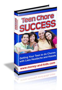 Teen Chore Success program - might have to check this out.