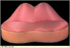 Mae West Lips Sofa, 1937