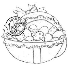Make unique artwork using the stylish Magnolia Hoppy Easter Cling Stamp from the landscaping art collection. The EZ-mounted stamp features a lovely themed image that you can use with other coordinatin