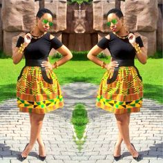 love the colors. ~Latest African Fashion, African Prints, African fashion styles, African clothing, Nigerian style, Ghanaian fashion, African women dresses, African Bags, African shoes, Nigerian fashion, Ankara, Aso okè, Kenté, brocade. DK