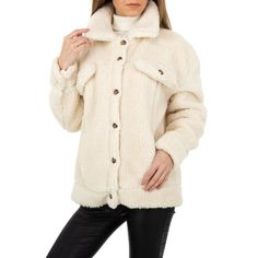 Teddy Coat, Komplette Outfits, White Art, Model, Jackets, Design, Fashion, Self, Clothing