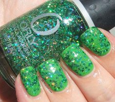 Icy Nails  Orly Monster Mash