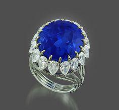 Burma Sapphire by IVY Fine Jewels.