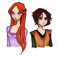 (Sansa and Arya by Nina-D-Lux.deviantart.com on @DeviantArt) Reminds me of my sister and I. We couldn't be any more different, but we love each other all the same and I'll always have her back, just as she'll always have mine.