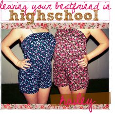 """""""WHEN YOU & YOUR BESTFRiEND GO TO DiFFERENT HiGH SCHOOLS :("""" by thepolyvoretipgirls ❤ liked on Polyvore"""