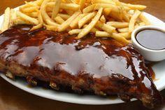 Receita de Costela de Porco com Molho Barbecue , Delicioso e fácil de fazer! Aprenda a Receita! Saiba Mais:
