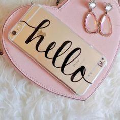 Calligraphy DIY Phone Case with black sharpie – Makeful                                                                                                                                                                                 More