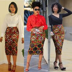 20 Gorgeous Ankara Skirt Styles - African Fashion Skirts This is how we are strutting into 2020 in style and class with Thank you African Fashion Skirts, Skirt Fashion, Nigerian Fashion, Ankara Fashion, Lace Dress Styles, Ankara Skirt And Blouse, African Print Skirt, Next Clothes, Full Circle Skirts