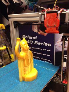 Moro! 3D-tulostettu kaveri.