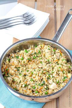 smažená rýže natural