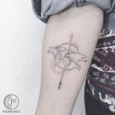 25 Travel-Themed Tattoos That'll Give You Instant Wanderlust. - http://www.lifebuzz.com/travel-tattoos/